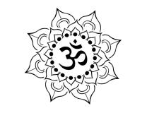 AUM-lotus-tattoo